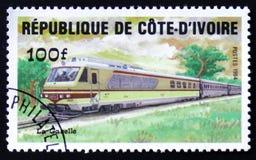 Ivoire för ` för Repuplic skjul D, showtranegasell, circa 1984 Arkivbild