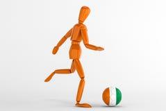 Ivoirefotboll för skjul D Royaltyfri Bild
