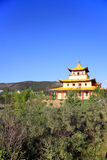 Ivolginsky Datsan on a bright summer day. Traditional Buddhist Temple Royalty Free Stock Images