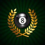 Ivories, Billiard Balls Background Stock Images