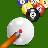 Ivories, Billiard Balls Background Stock Photos