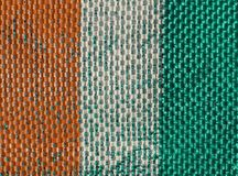Ivorische Flagge des Taubenschlages Ivoire Stockbild