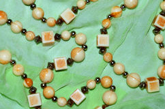 Ivory beads Royalty Free Stock Photo