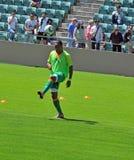 Ivory coast and Japan football match Royalty Free Stock Photography