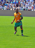 Ivory coast and Japan football match Stock Photos
