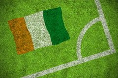 Ivory coast national flag Royalty Free Stock Photography
