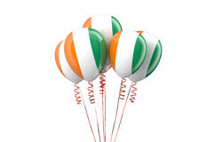 Ivory Coast patriotic balloons,  holyday concept Stock Photography