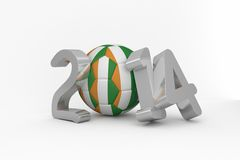 Ivory coast world cup 2014 Stock Image