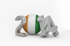 Ivory coast world cup 2014 Stock Photo