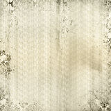 Ivory Damask Print. Textured look background in ivory with grunge Damask print Royalty Free Stock Photo