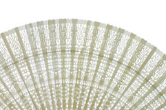 Ivory fan Stock Photo