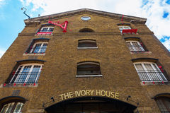 Ivory House in the St Katharine Docks in London Royalty Free Stock Photos