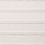 Ivory lace fabric on white background Royalty Free Stock Photos