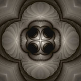 Ivory mandala Royalty Free Stock Photography