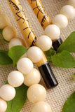 Ivory necklace Royalty Free Stock Image