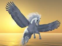 Ivory Pegasus Royalty Free Stock Image