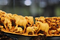 Ivory sculpture Royalty Free Stock Photo