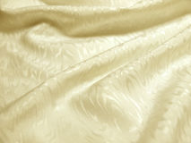 Ivory silk with texture of moire Stock Image