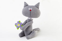 Ivory - soft toy Royalty Free Stock Image