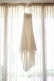 Ivory Wedding Dress Royalty Free Stock Photography