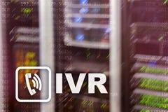 IVR głosu odpowiedzi komunikaci Interaktywny pojęcie fotografia royalty free