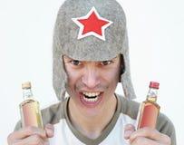 Ivrogne russe photographie stock libre de droits