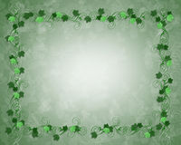 Ivy border frame. Ivy leaves frame or border illustration for card, invitation or stationery Royalty Free Stock Photos