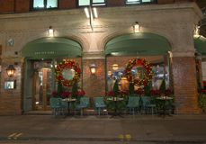 Ivy Cafe fotografia stock