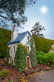 Ivy cottage Royalty Free Stock Photos