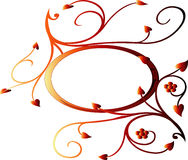ivy czerwony Obraz Royalty Free
