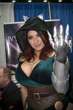 Ivy Doomkitty en Baltimore Comicon fotografía de archivo libre de regalías