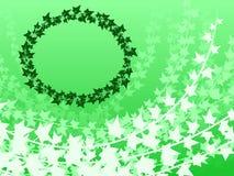 Ivy frame background Stock Image