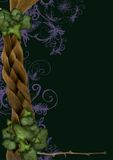 Ivy frame - fairy, elven Stock Image