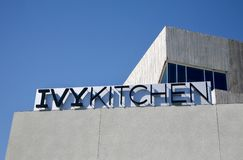 Ivy Kitchen, Dallas Texas royalty-vrije stock foto