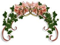 ivy kwiecistego azalie mają wesele Fotografia Royalty Free