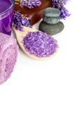 ivy lavender soap spa πετσέτα Στοκ Φωτογραφίες