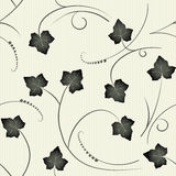 Ivy - seamless pattern Stock Photos