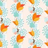 Ivy Seamless Pattern Imagenes de archivo