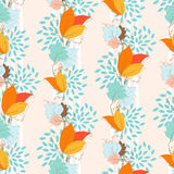 Ivy Seamless Pattern Stock Images