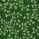 Ivy seamless  repeat pattern Royalty Free Stock Image