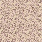 Ivy vine silhouette, elegant purple floral decorative wallpaper design element of leaves, pretty wedding invitation design Stock Image
