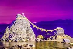 Iwa Meoto βράχος Στοκ Εικόνες