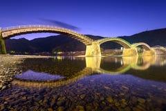 Iwakuni Bridge in Japan Royalty Free Stock Photo