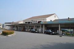 Iwakuni dworzec Japonia Obrazy Stock