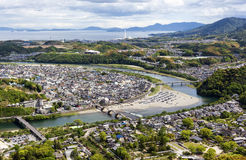 Iwakuni and Inland Sea, Yamaguchi Prefecture, Japan Royalty Free Stock Photos