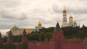 Iwan der große Glockenturm auf dem Gebiet des Moskaus der Kreml stock video