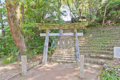 Iwasaki Shinto Shrine in Matsuyama, Japan Royalty Free Stock Photography