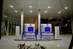 Iwatani hydrogen fueling station Royalty Free Stock Photos