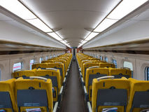 Iwate, Japan - April 27,2014: Innerhalb E6 der Reihe Shinkansen lizenzfreies stockfoto