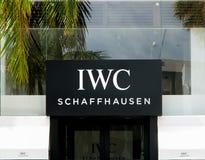 IWC Schaffhausen Stock Image